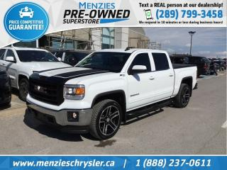Used 2015 GMC Sierra 1500 SLE 4x4, Cam, Bluetooth, Hitch, Clean Carfax for sale in Whitby, ON