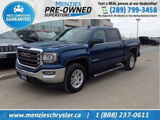 Used 2018 GMC Sierra 1500 SLE z71 4x4, Bluetooth, Cam, One Owner for sale in Whitby, ON