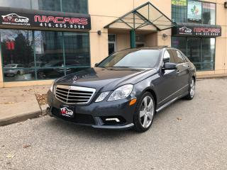 Used 2010 Mercedes-Benz E-Class E 350**4MATIC**PANO ROOF** for sale in North York, ON