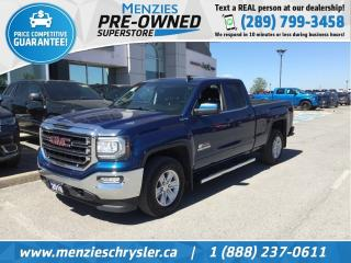 Used 2016 GMC Sierra 1500 SLE, 5.3, 4X4, Bluetooth, ONE Owner, Clean Carfax for sale in Whitby, ON