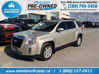 Used 2013 GMC Terrain SLT, Sunroof, Leather, One Owner, Clean Carfax for sale in Whitby, ON
