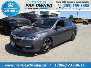 Used 2017 Honda Accord Sedan Sport, Sunroof, Bluetooth, Heated Frt Seats for sale in Whitby, ON