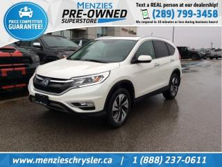 Used 2016 Honda CR-V Touring AWD, Sunroof, One Owner, Clean Carfax for sale in Whitby, ON