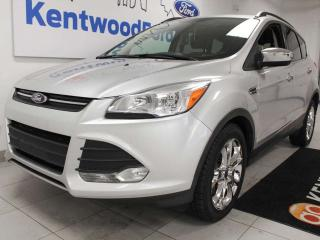 Used 2014 Ford Escape SE 4WD ecoboost with a sunroof, heated power seats, keyless entry and a back up cam for sale in Edmonton, AB