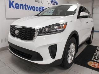 Used 2019 Kia Sorento LX AWD with heated seats, heated steering wheel, push start/stop and a back up cam for sale in Edmonton, AB