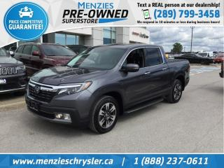 Used 2018 Honda Ridgeline Touring AWD, Sunroof, One Owner, Clean Carfax for sale in Whitby, ON