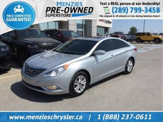 Used 2013 Hyundai Sonata GLS, Bluetooth, Sunroof, Alloys, One Owner for sale in Whitby, ON