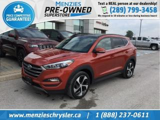 Used 2016 Hyundai Tucson Limited, Pano Roof, Navi, One Owner, Clean Carfax for sale in Whitby, ON