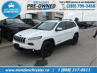 Used 2016 Jeep Cherokee North 4x4, Navi, Cam, One Owner, Clean Carfax for sale in Whitby, ON