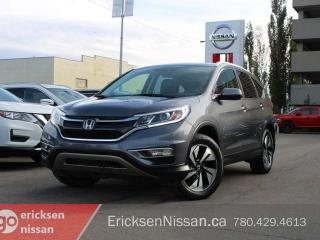 Used 2016 Honda CR-V TOURING l AWD l Leather l Roof l Heated Seats for sale in Edmonton, AB