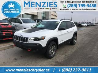 New 2020 Jeep Cherokee Trailhawk 4X4 for sale in Whitby, ON