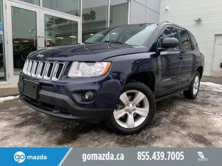 Used 2013 Jeep Compass NORTH 4X4 POWER OPTIONS GOOD CONDITION for sale in Edmonton, AB