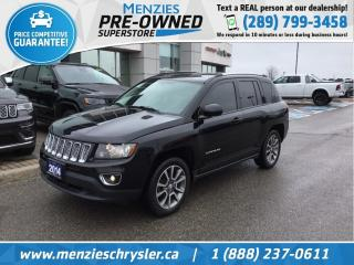 Used 2014 Jeep Compass Limited 4X4, Sunroof, ONE Owner, Clean Carfax for sale in Whitby, ON