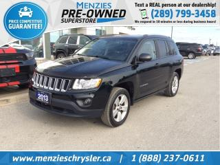 Used 2013 Jeep Compass North 4x4, Sunroof, 9 Boston Acoustics Speakers for sale in Whitby, ON