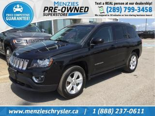 Used 2016 Jeep Compass High Altitude 4x4, Cam, One Owner, Clean Carfax for sale in Whitby, ON