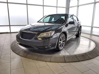 Used 2014 Chrysler 200 Touring - One Owner Accident Free! for sale in Edmonton, AB