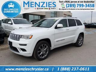 New 2020 Jeep Grand Cherokee Summit for sale in Whitby, ON