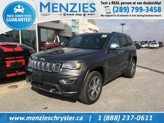 New 2020 Jeep Grand Cherokee Overland for sale in Whitby, ON
