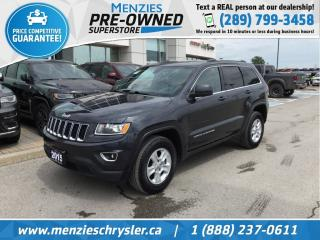 Used 2015 Jeep Grand Cherokee Laredo 4x4, Bluetooth, Sirius, Alloys, Fogs for sale in Whitby, ON