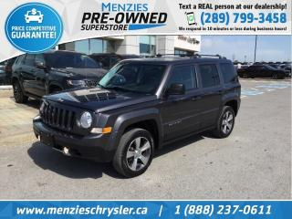 Used 2016 Jeep Patriot High Altitude, Leather, Sunroof, Clean Carfax for sale in Whitby, ON