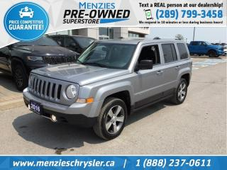 Used 2016 Jeep Patriot High Altitude 4x4, Bluetooth, Clean Carfax for sale in Whitby, ON