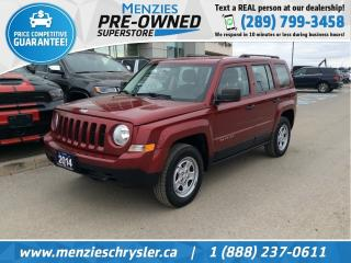 Used 2014 Jeep Patriot Sport 4x4, Cruise, One Owner, Clean Carfax for sale in Whitby, ON