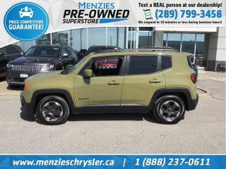 Used 2015 Jeep Renegade North, Sunroof, Cam, Htd Frt Seats, One Owner for sale in Whitby, ON