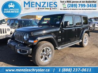 New 2020 Jeep Wrangler Unlimited Sahara for sale in Whitby, ON