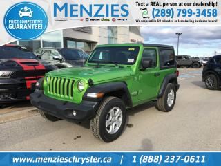 New 2019 Jeep Wrangler Sport S for sale in Whitby, ON