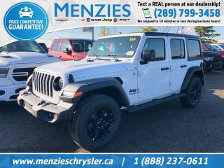 New 2020 Jeep Wrangler Unlimited Sport Altitude for sale in Whitby, ON