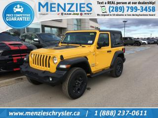 New 2020 Jeep Wrangler SPORT for sale in Whitby, ON