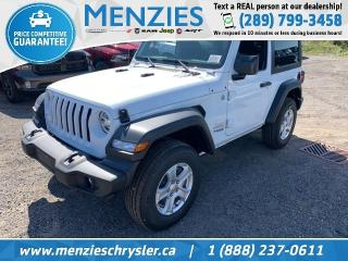 New 2020 Jeep Wrangler Sport S for sale in Whitby, ON