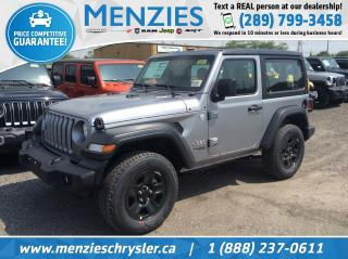 New 2019 Jeep Wrangler Sport 4X4 for sale in Whitby, ON