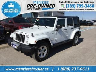 Used 2014 Jeep Wrangler Unlimited Sahara for sale in Whitby, ON