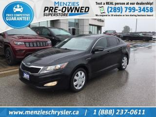 Used 2011 Kia Optima LX, Sirius, Bluetooth, Htd Frt Seats, Clean Carfax for sale in Whitby, ON