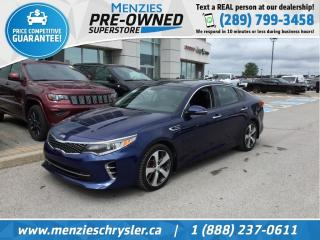 Used 2016 Kia Optima SX Turbo, Navi, Pano, One Owner, Clean Carfax for sale in Whitby, ON