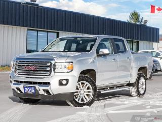Used 2015 GMC Canyon 4WD SLT,NAVI,R/V CAM,B.TOOTH for sale in Barrie, ON