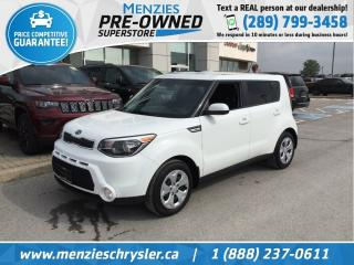 Used 2016 Kia Soul LX, Bluetooth, Sirius, One Owner, Clean Carfax for sale in Whitby, ON