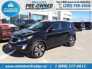Used 2012 Kia Sportage EX, Bluetooth, Sirius, One Owner, Clean Carfax for sale in Whitby, ON