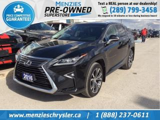 Used 2016 Lexus RX 350 AWD, Sunroof, Navigation, One Owner, Clean Carfax for sale in Whitby, ON