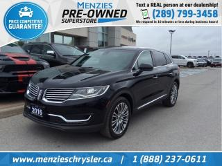 Used 2016 Lincoln MKX Reserve AWD, Pano Roof, Navi, Leather for sale in Whitby, ON