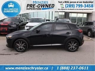 Used 2016 Mazda CX-3 GT, Sunroof, Navi, One Owner, Accident Free for sale in Whitby, ON