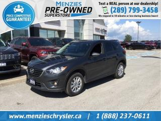 Used 2016 Mazda CX-5 GS, Sunroof, Cam, Bluetooth, Clean Carfax for sale in Whitby, ON
