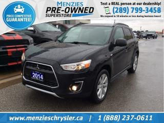 Used 2014 Mitsubishi RVR GT 4X4, Bluetooth, Alloys, One Owner for sale in Whitby, ON