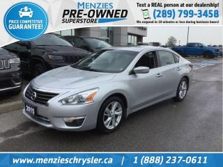 Used 2015 Nissan Altima 2.5 SV, Bluetooth, Sunroof, Cam, Clean Carfax for sale in Whitby, ON