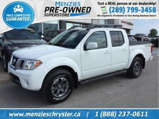 Used 2016 Nissan Frontier PRO-4X, Leather, Sunroof, Cam, Clean Carfax for sale in Whitby, ON
