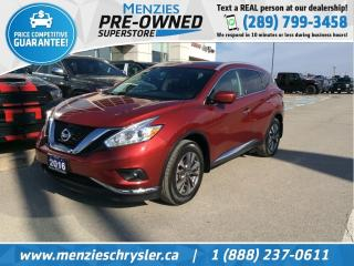 Used 2016 Nissan Murano Platinum AWD, Navi, Pano, Leather, Clean Carfax for sale in Whitby, ON