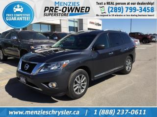 Used 2014 Nissan Pathfinder SL, Bluetooth, ONE OWNER, Clean CarFax, New Tires for sale in Whitby, ON