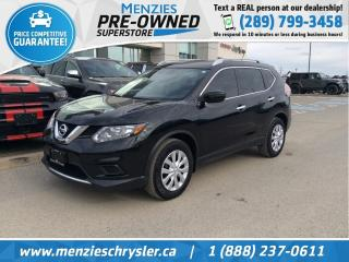 Used 2016 Nissan Rogue S, Bluetooth, Cam, One Owner, USB, Clean Carfax for sale in Whitby, ON