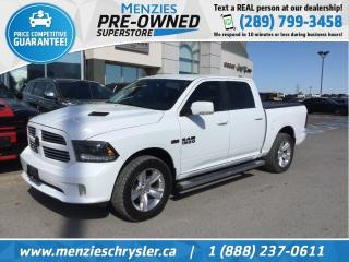 Used 2015 RAM 1500 Sport Hemi 4x4, Navi, One Owner, Clean Carfax for sale in Whitby, ON